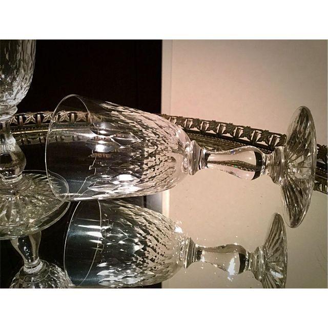 Baccarat(バカラ)のレア 美品 オールドバカラ forme Gondole アペリティフグラス 2脚 インテリア/住まい/日用品のキッチン/食器(グラス/カップ)の商品写真