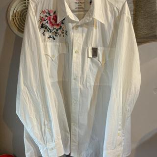 "【最安値】DAIRIKU""Flower Cross Em Shirt "" 【M】"