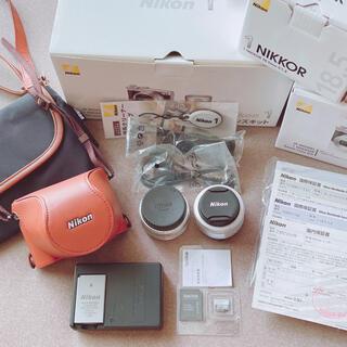 Nikon - Nikon 1 J5 ダブルレンズキット ミラーレスカメラ