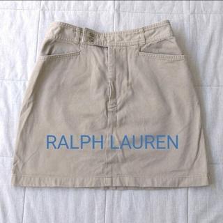 ポロラルフローレン(POLO RALPH LAUREN)のラルフローレン ミニ丈 チノスカート サイズ7(ミニスカート)