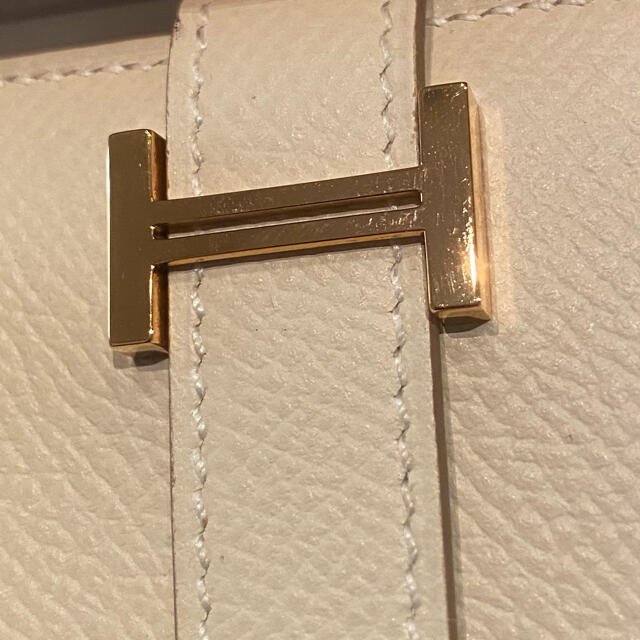 Hermes(エルメス)のローズゴールド金具・クレ・ベアンコンパクト レディースのファッション小物(財布)の商品写真