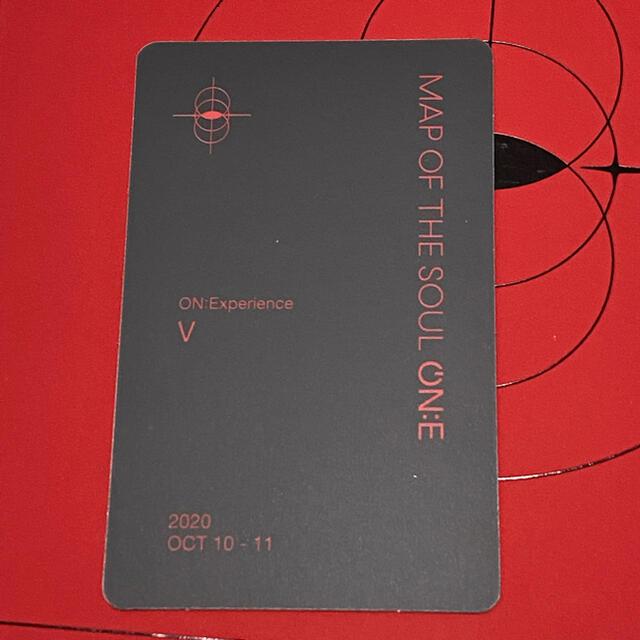 防弾少年団(BTS)(ボウダンショウネンダン)の防弾少年団 BTS ON:E DVD トレカ テヒョン エンタメ/ホビーのCD(K-POP/アジア)の商品写真