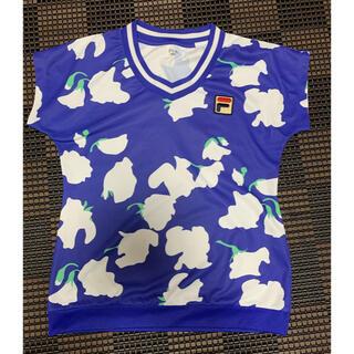 フィラ(FILA)のFILA テニスウェア ゲームシャツ Lサイズ(Tシャツ(半袖/袖なし))
