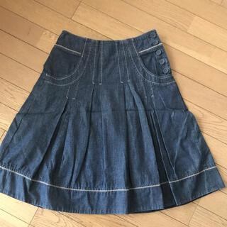 ローラアシュレイ(LAURA ASHLEY)のLAURA ASHLEY スカート 7号size(ひざ丈スカート)