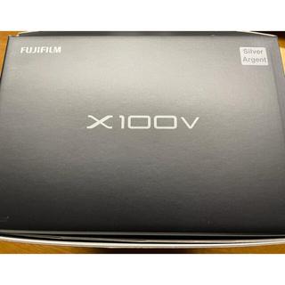 富士フイルム - 【極美品】FUJIFILM x100v シルバー 予備バッテリー付き