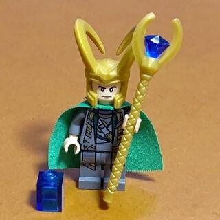レゴ(Lego)のレゴ★スーパー・ヒーローズ ミニフィグ ロキ 美品 人気 激レア(その他)