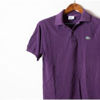 ラコステ(LACOSTE)のLACOSTE ラコステ ポロシャツ半袖 紫(ポロシャツ)