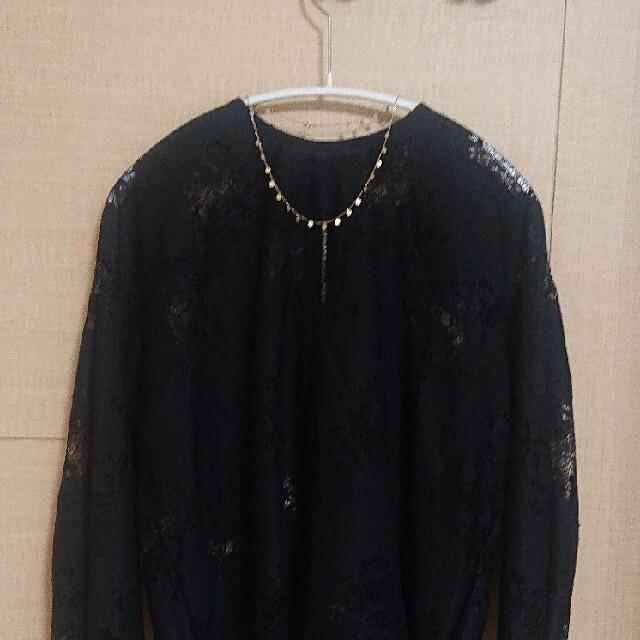 COCOSHNIK(ココシュニック)のココシュニック ネックレス プレート K10 レディースのアクセサリー(ネックレス)の商品写真