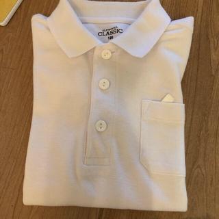 白 ポロシャツ 幼稚園 保育園 制服 長袖
