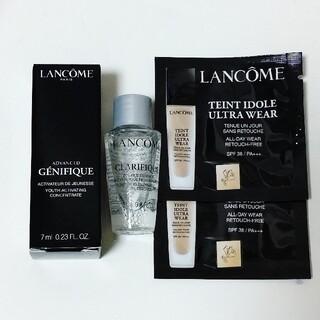 LANCOME - ランコム LANCOME サンプル 化粧水 美容液 ファンデーション