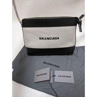 バレンシアガ(Balenciaga)のBALENCIAGA NAVY クロスボディバッグ(ショルダーバッグ)