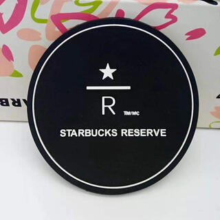スターバックスコーヒー(Starbucks Coffee)の再入荷!新品海外限定!スタバリザーブシンプルロゴコースター4枚セット(テーブル用品)