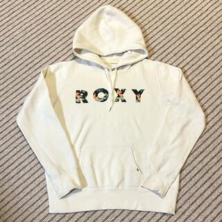 ロキシー(Roxy)のロキシー レディース スウェット パーカー M ホワイト(パーカー)