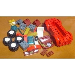 レゴ(Lego)のレゴ★ジュニア アイアンマンの超速カー 美品 人気 激レア(その他)