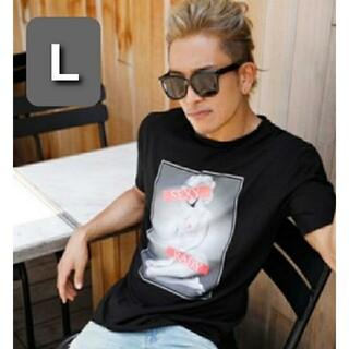 レディー(Rady)の▷Rady◁  メンズTシャツ / BLACK / L(Tシャツ/カットソー(半袖/袖なし))