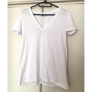ZARA - ZARA Vネック Tシャツ