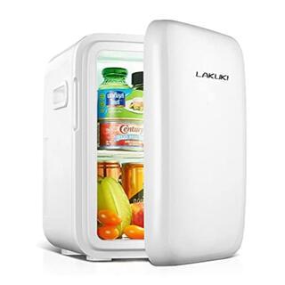 【新品未使用】小型冷蔵庫 ミニ冷蔵庫 家庭 車載両用 低騒音 軽量