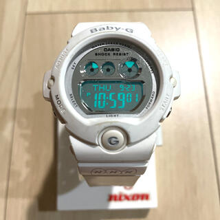 ベビージー(Baby-G)のCASIO Baby-G WHITE レディース 腕時計(腕時計)