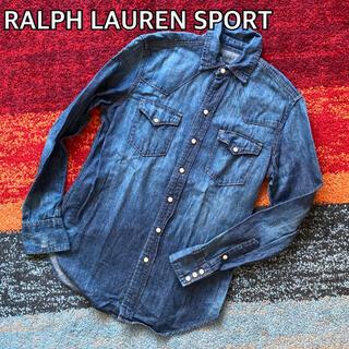 Ralph Lauren - RALPH LAUREN SPORT ラルフローレン  ウエスタン デニムシャツ