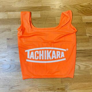 NIKE - 【新品未使用】TACHIKARA ボール サック オレンジ 非売品