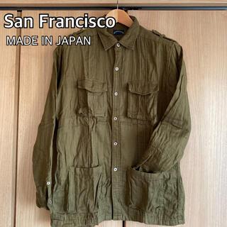 HOLLYWOOD RANCH MARKET - San Francisco サンフランシスコ ミリタリー シャツ 日本製