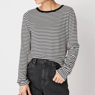 DEUXIEME CLASSE - ドゥーズィエムクラス新品 Stripe Long Sleeve Tシャツボーダー