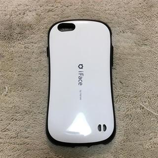 アイフォーン(iPhone)のiface 白色 iPhone6s (iPhoneケース)