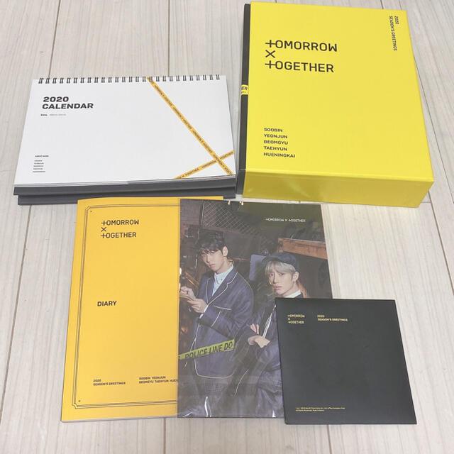 txt cd dvd シーグリ seasons greeting トレカ グッズ エンタメ/ホビーのCD(K-POP/アジア)の商品写真