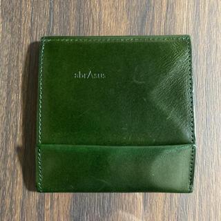 アブラサス 薄い財布 ブッテーロエディション グリーン