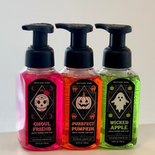 Bath & Body Works - Bath&BodyWorks バスアンドボディワークス ハロウィン 泡タイプ3本