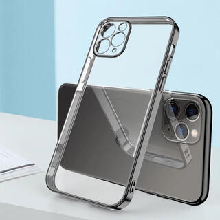 アイフォーン(iPhone)のiPhone11pro ケース クリア シンプル(iPhoneケース)