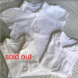 ベルメゾン - GITA!ベルメゾンの半袖 丸襟ポロシャツ 2枚!