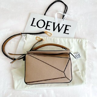 LOEWE - LOEWE パズルバッグ スモール