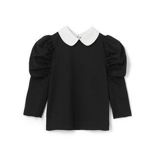 グレイル(GRL)のGRL グレイル 襟付きパワショルカットプルオーバー(カットソー(長袖/七分))