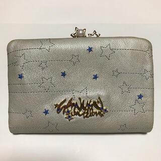 LANVIN en Bleu - 激安 LANVIN en Bleu レトワールスター刺繍2つ折り財布