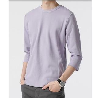 ナノユニバース(nano・universe)の新品タグ付 七分袖 ティーシャツ(Tシャツ/カットソー(七分/長袖))