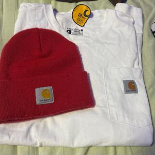 カーハート(carhartt)のcarhartt Tシャツ ニット帽セット(Tシャツ/カットソー(半袖/袖なし))