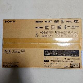 SONY - ソニーブルーレイレコーダー/DVDレコーダー BDZ-FW500【新品未使用】