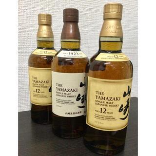 サントリー - 山崎12年【2本】、山崎ノンビンテージ【1本】