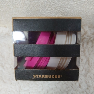 スターバックスコーヒー(Starbucks Coffee)のブラックコレクタブルズ リッドアソート 蓋 タンブラー カスタム スタバ(その他)