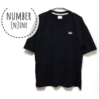 ナンバーナイン(NUMBER (N)INE)のNUMBER(N)INE【美品】ロゴ 刺繍 半袖 スウェット カットソー(トレーナー/スウェット)