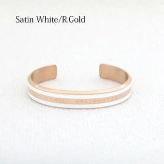 ダニエルウェリントン(Daniel Wellington)のダニエルウェリントン バングル Satin White/R.Gold (S)(ブレスレット/バングル)