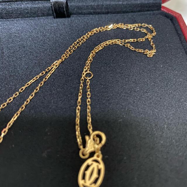 Cartier(カルティエ)のカルティエ ディアマン レジェ ネックレス SM ピンクゴールド レディースのアクセサリー(ネックレス)の商品写真