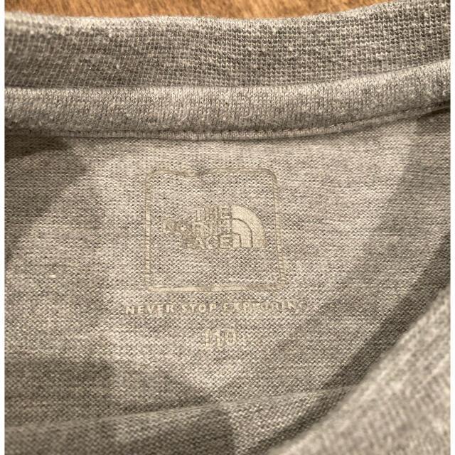 THE NORTH FACE(ザノースフェイス)の❗️専用です❗️       ノースフェイス🏔Tシャツ  110センチ キッズ/ベビー/マタニティのキッズ服男の子用(90cm~)(Tシャツ/カットソー)の商品写真
