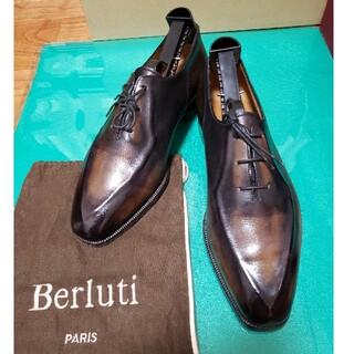 ベルルッティ(Berluti)のBerluti ベルルッティ プレーントゥ ダークブラウン 6ハーフ(ドレス/ビジネス)