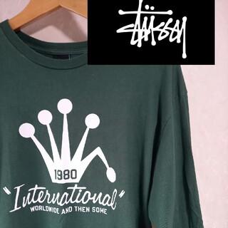 """ステューシー(STUSSY)の""""stussy"""" 1980年黒タグ ロングTシャツ(Tシャツ/カットソー(七分/長袖))"""