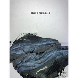 Balenciaga - BALENCIAGA ブラック トリプル S Triple S スニーカー