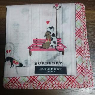 BURBERRY - バーバリーハンカチ