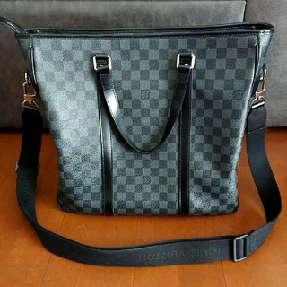 LOUIS VUITTON - ✨超美品✨ルイヴィトン トートバッグ ダミエ グラフィット タダオPM