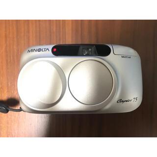 KONICA MINOLTA - MINOLTA Capios75 フィルムカメラ 作例あり